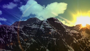 Mountain Top Motion Background