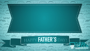 Mustachio Father's Day 3 Motion Background