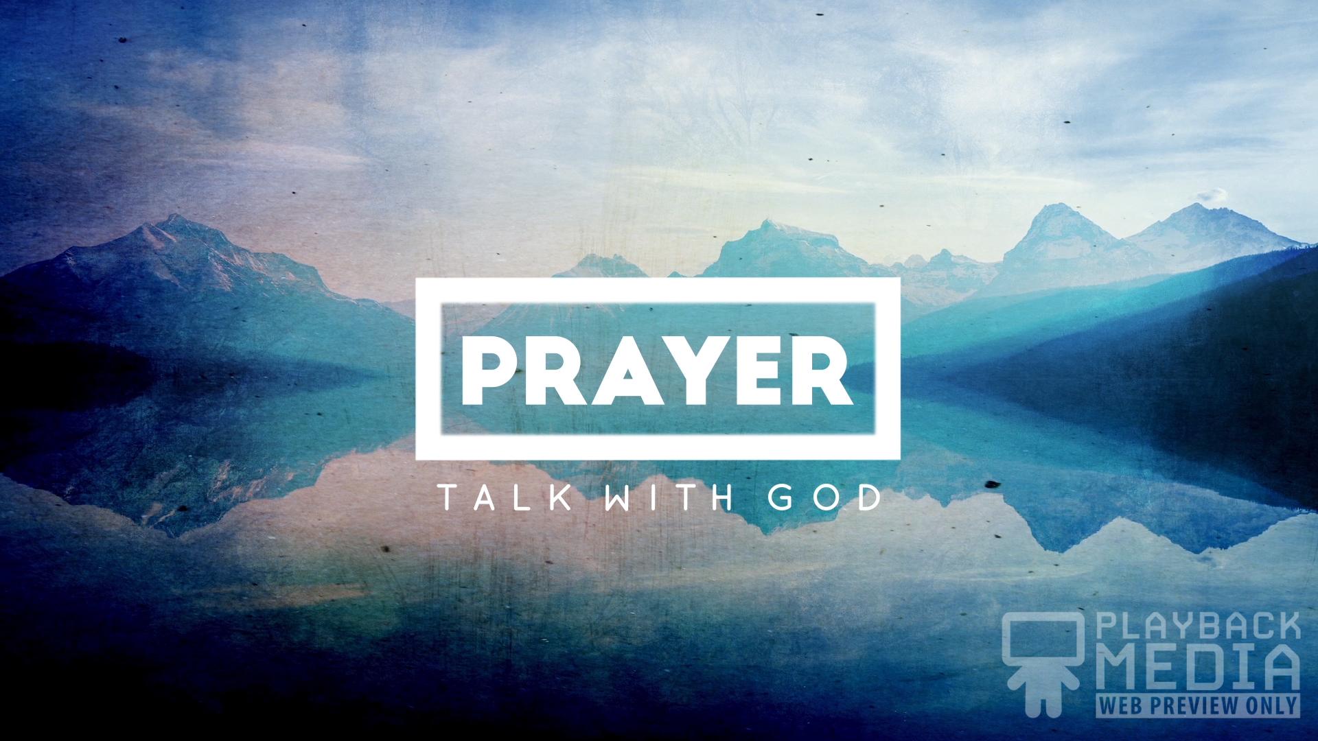 Nature Talks Prayer 1 Motion Image