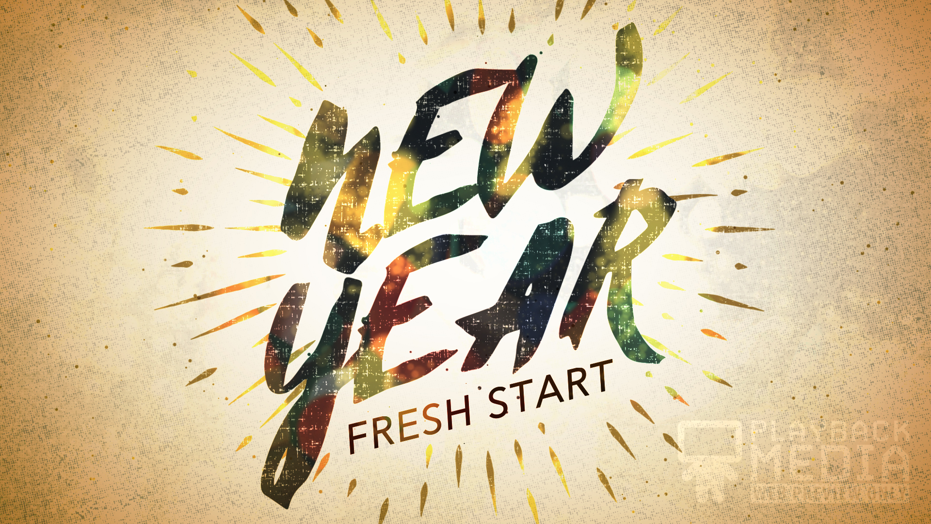 New Year Fresh Start Motion 1 Image