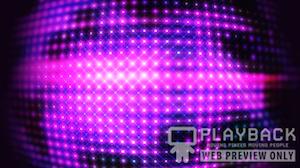 New Years Ball Purple Still Background
