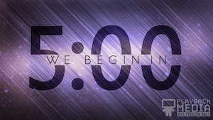 New Years Confetti Church Countdown