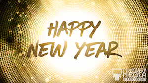 New Years Party Motion Background