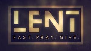 Observing Lent 1 Still Background