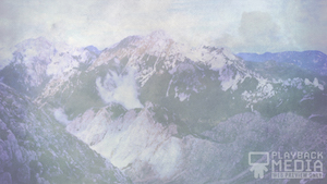 Open Mountains 3 Motion Background