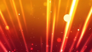 Orange Light Beams Motion Background