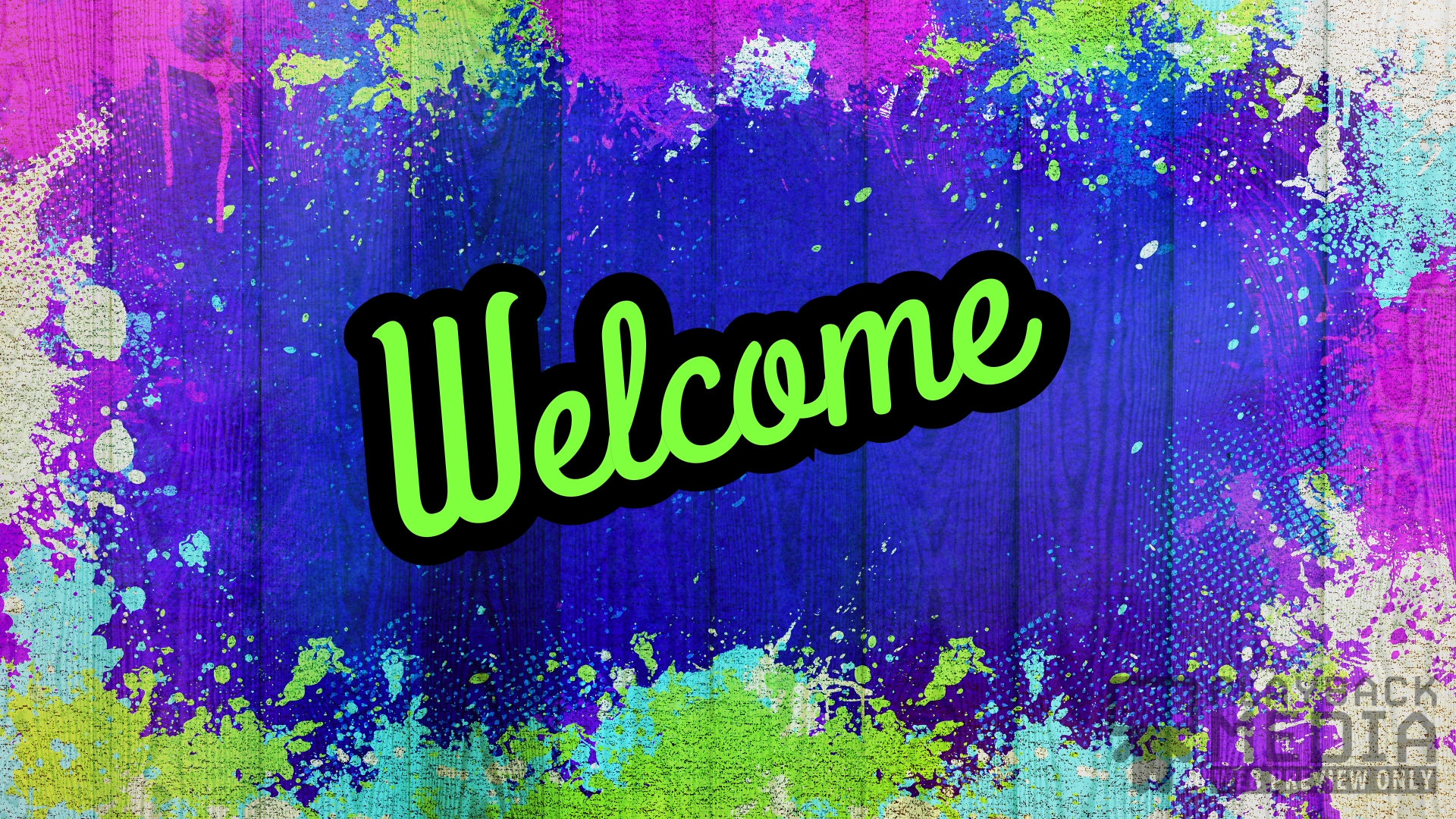 Painted Joy Welcome Still Image