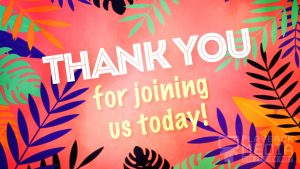 Palm Sunday Party Welcome Motion BackgroundPalm Sunday Party Welcome Motion Background