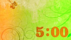 Pastel 5-Minute church Countdown