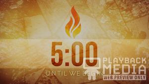 Pentecost Fire Church Countdown