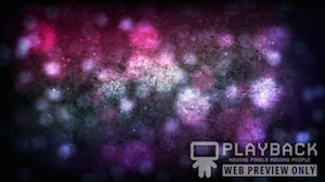 Pink Indigo Particles Still Background