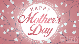 Pink Mother's Day Mother Motion Background