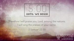 Praise church countdown