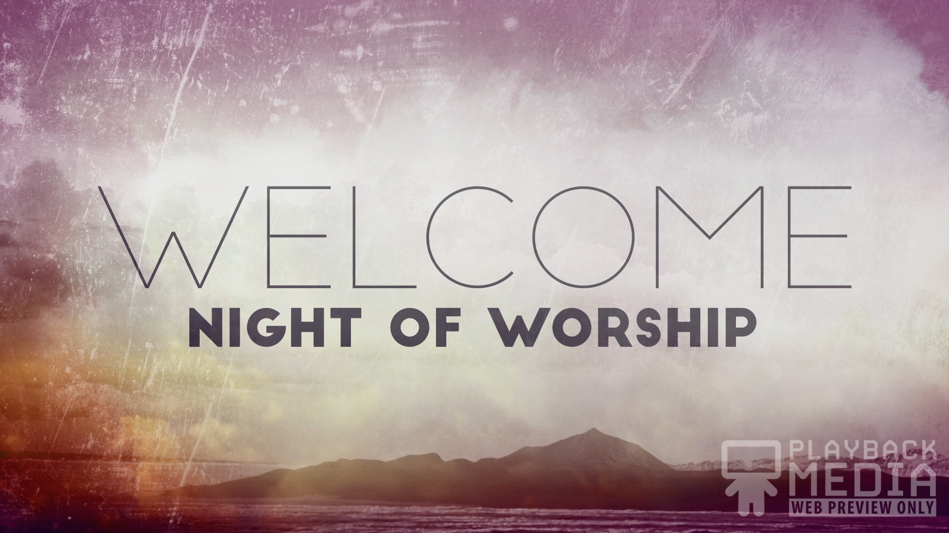 Praise Worship Night Motion Image
