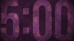 Purple Fall Church Countdown