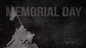 Trending Patriotic Memorial Day Worship Backgrounds