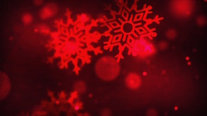 Red Falling Flakes Motion Background