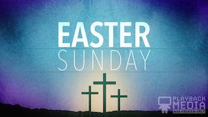 Redemption Easter Motion Background