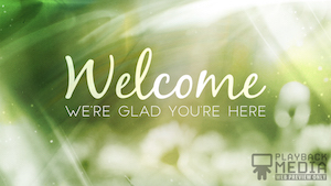 Revealing Nature Welcome Motion Background