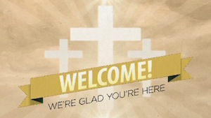 Risen Banner Welcome Motion Background