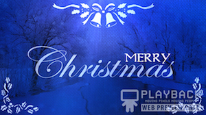 Sapphire Christmas Merry Christmas Still Background