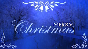 Sapphire Christmas Merry Christmas Motion Background