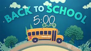 School Bus Countdown
