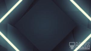 Shifting Geometry Blue 1 Still Background
