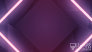 Shifting Geometry Purple Motion Background