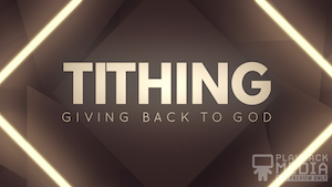 Shifting Geometry Tithing Motion Background