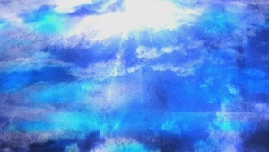 Sky Clouds Blue Motion Background
