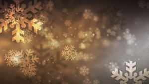Snowflake 3 Motion Background