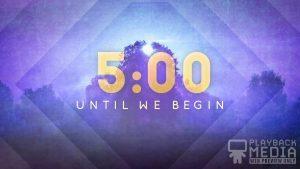 Spring Morning Church Countdown