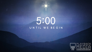 Starry Night Church Countdown