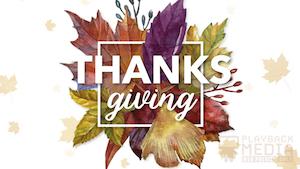 Thanksgiving Centerpiece Still 5 Still Background
