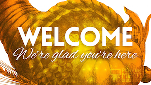 Thanksgiving Welcome Motion Background