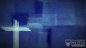 Three Crosses Blue 2 Motion Background Image