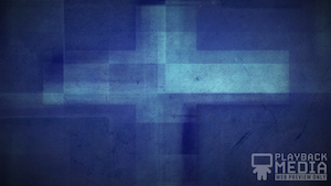 Three Crosses Blue 5 Motion Background