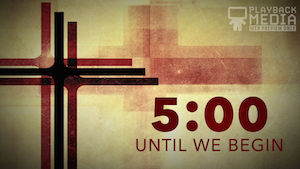 Three Crosses Countdown Image
