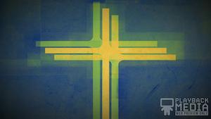 Three Crosses Green 1 Still Background