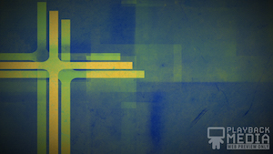 Three Crosses Green 4 Motion Background