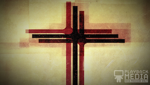 Three Crosses Red 1 Motion Background