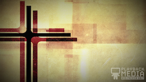 Three Crosses Red 4 Motion Background
