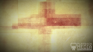 Three Crosses Red 5 Motion Background