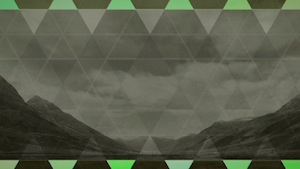 Triangle Mountains Blank 1 Motion Background