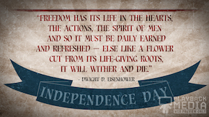 Vintage Independence Day Quote 2 Still Background
