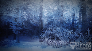 Winter Story 4 Motion Background
