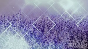 Winter Trails 2 Purple Motion Background