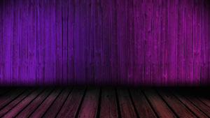 Wooden Dance Floor Purple Motion Background