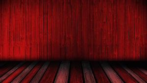 Wooden Dance Floor Red Motion Background